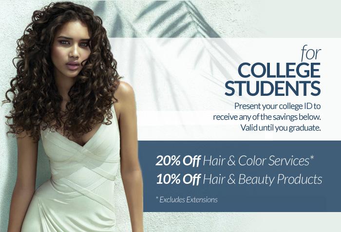 hair salon college deals