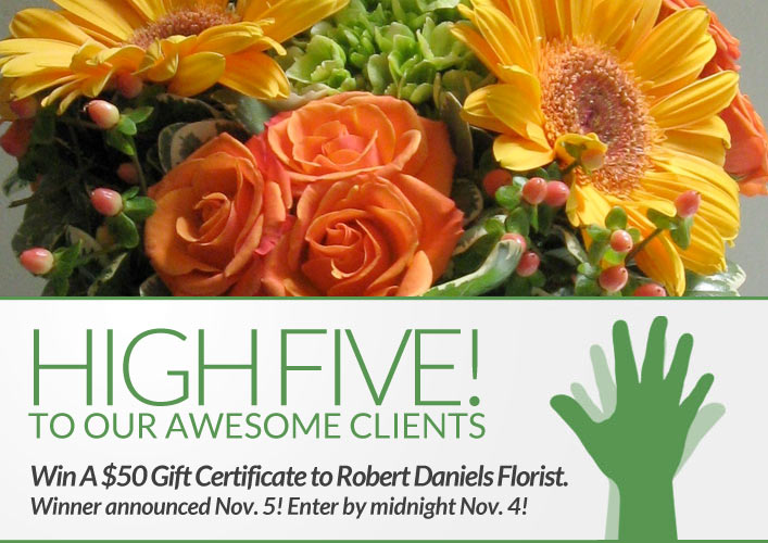 Chicago Florist Giveaway