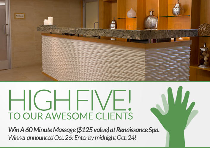 Renaissance Hotel Spa Giveaway