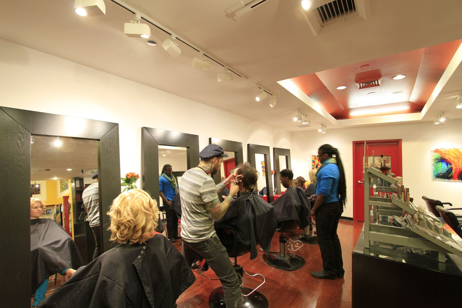 XEX Hair Gallery Interior
