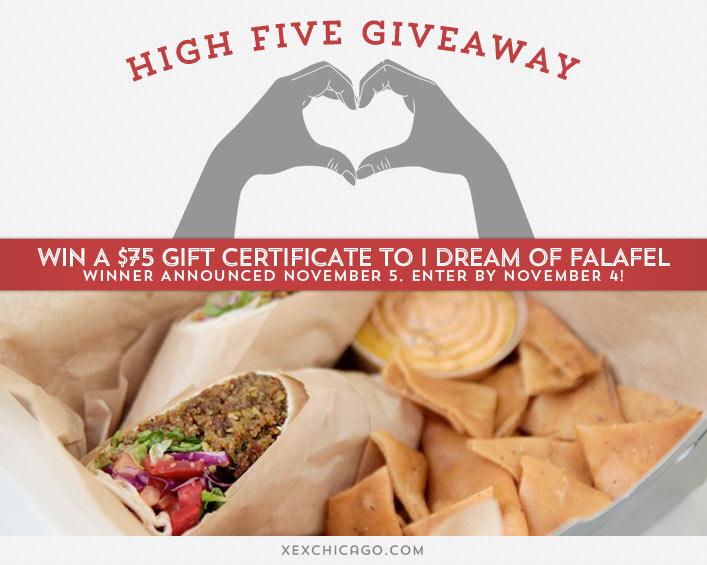 I Love Falafel Giveaway