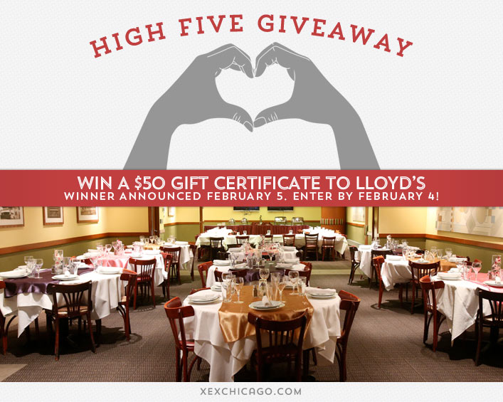 Lloyds Chicago Giveaway