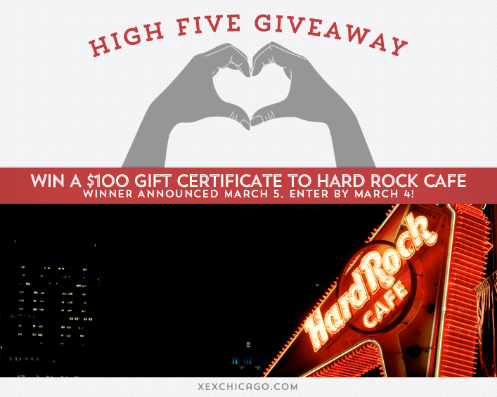 Hard Rock Cafe Giveaway