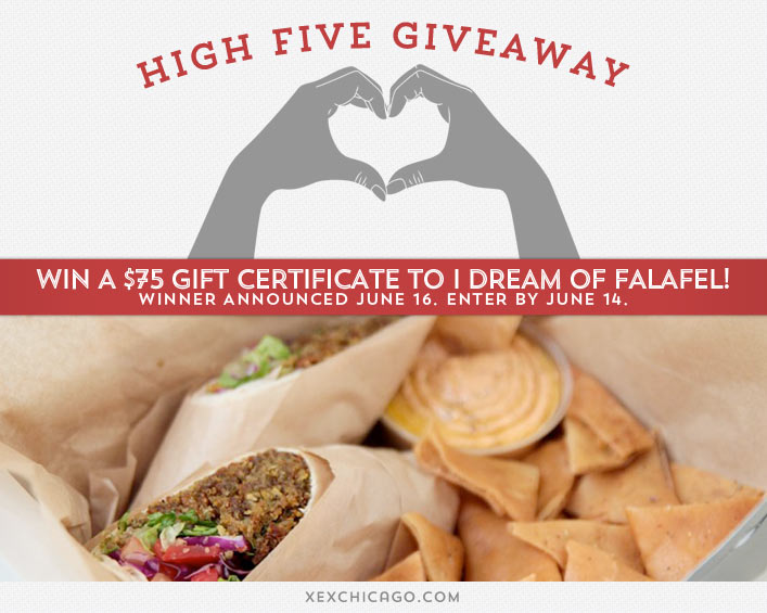 I Dream of Falafel Contest