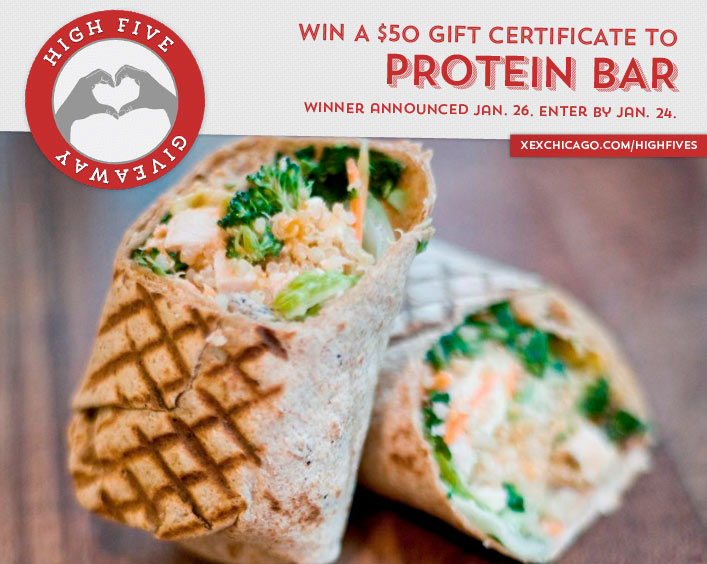 Protein Bar Giveaway