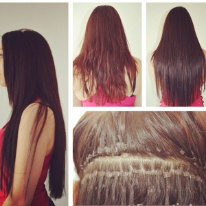Chicago Micro Bead Hair Extensions Salon