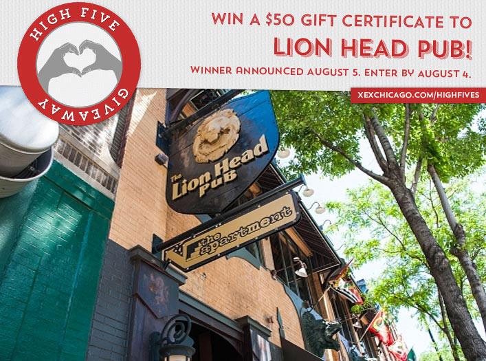Lions Head Pub Giveaway
