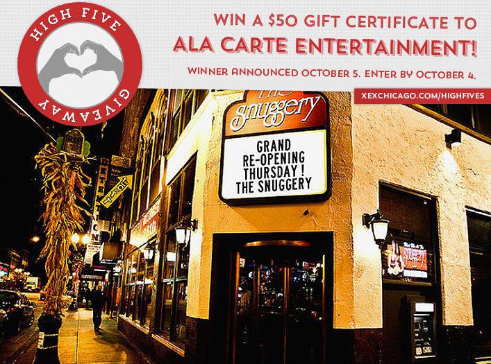 Ala Carte Entertainment Giveaway