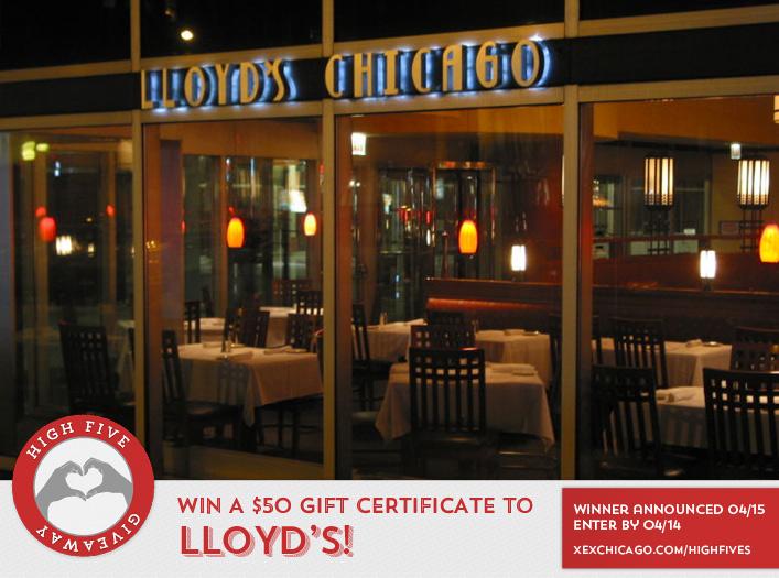 Lloyds Cafe Menu