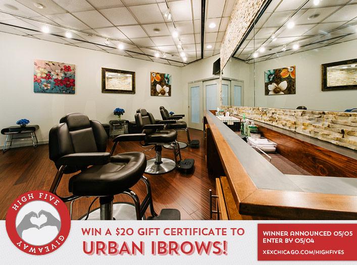 Urban iBrows web site