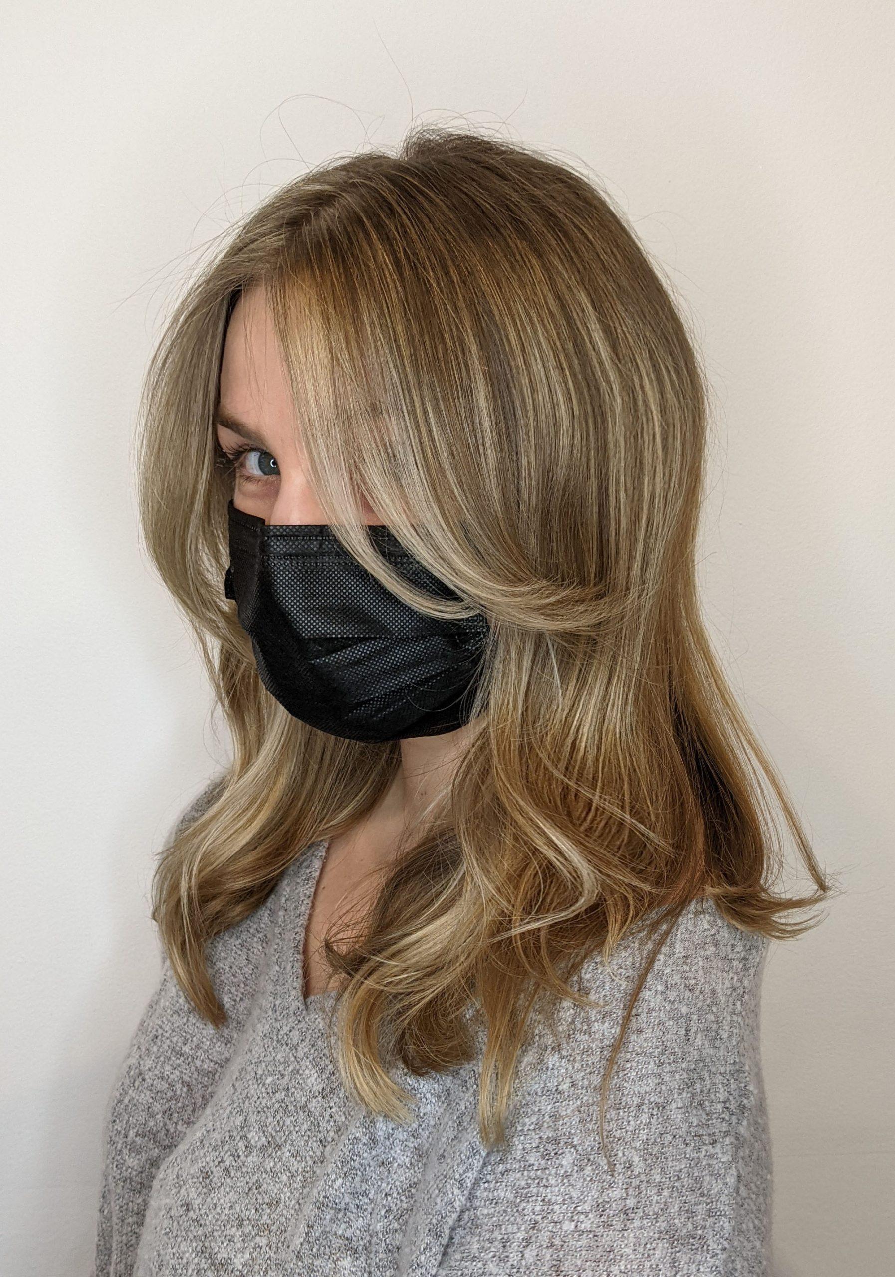 dark-brown-hair-blonde-highlights-chicago