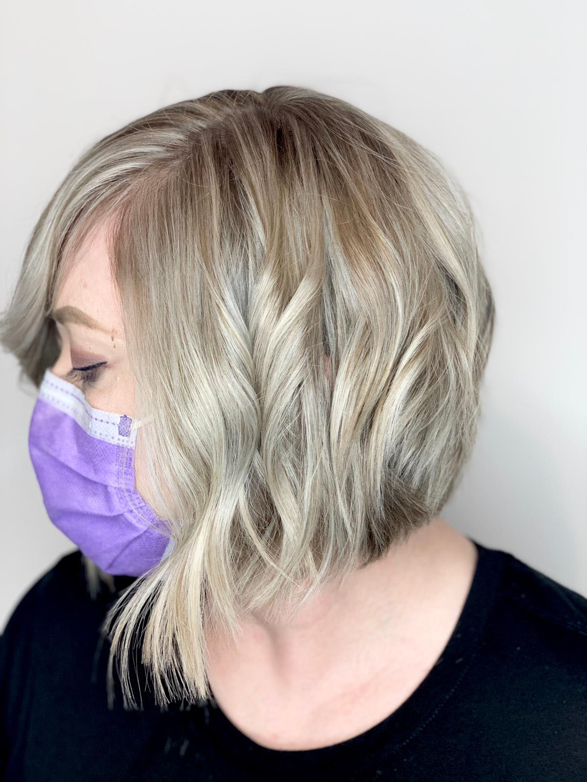 highlights-short-blonde-hair-chicago