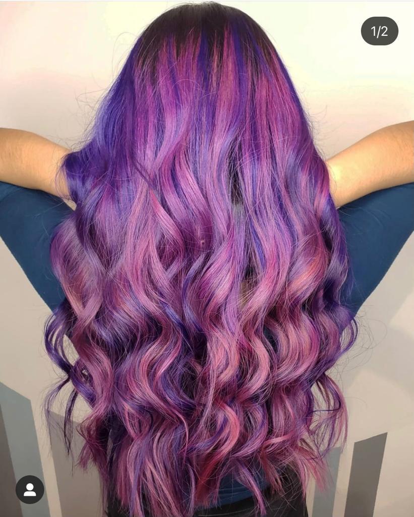 vibrant-purple-rainbow-hair-chicago